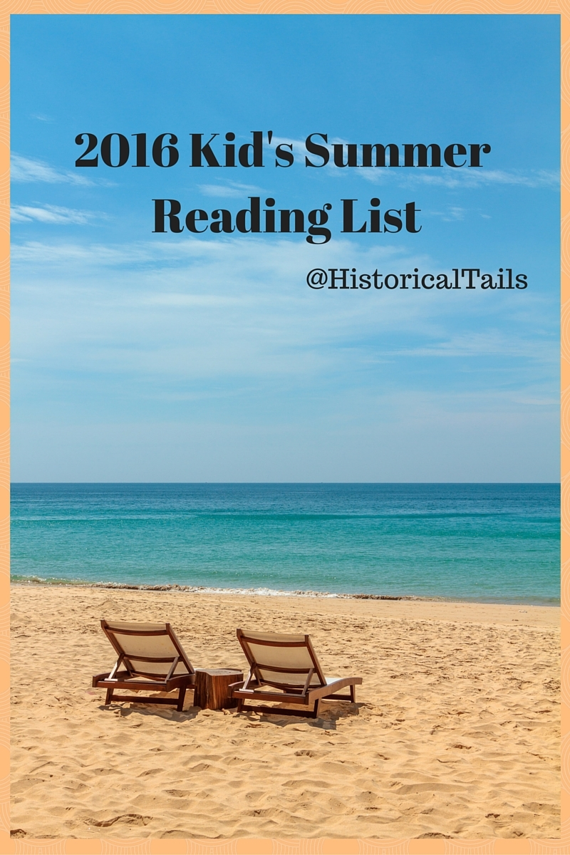 2016 Kid's Summer Reading List