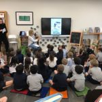school visit and reading